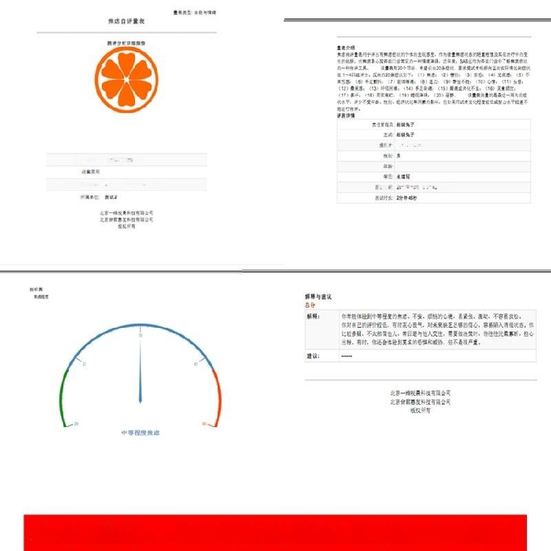 云心理测评系统,可以提供oem服务的云心理测评软件