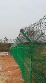 深圳护栏网马路护栏网双边丝护栏网果园围栏网厂家供应