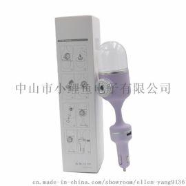 多功能车载加显器双USB充电精油香薰机