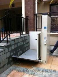 导轨式升降机启运家用残疾人电梯别墅定制升降台