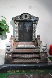 云南澄江县墓碑制造厂 花岗岩陵园石碑