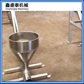 切粒机风送冷却装置 储料仓 风送 螺旋切粒机