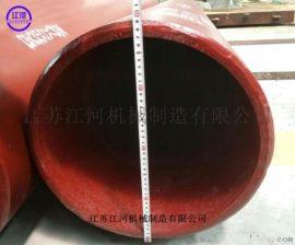 双金属复合管材 合金双金属耐磨三通 江河耐磨材料