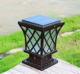 压铸铝太阳能柱头 LED不锈钢 LED柱头灯 不锈钢柱头灯 压铸铝