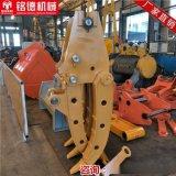 卡特320机械夹木器 卡特机械式抓钢机