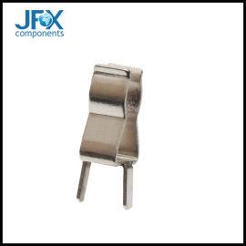 黄铜镀锡保险丝夹单体保险丝管夹面板安装保险丝管夹