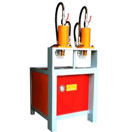 正谷ZG-100双工位不锈钢打孔机 楼梯护手冲弧机