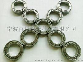 S694-2RS 双面橡胶密封微型不锈钢轴承