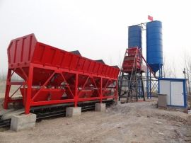 2HZS50站 混凝土双卧轴强制式混凝土搅拌机 混凝土搅拌楼(站)