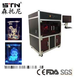 武汉水晶玻璃亚克力内雕加工设备 3d激光内雕机厂家