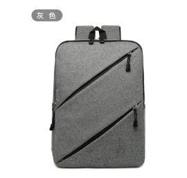 厂家定制双肩电脑包 批发广告礼品双肩包 可添加logo