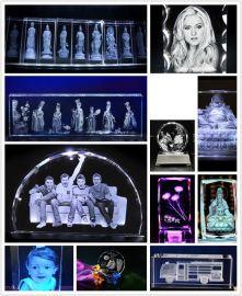 三维人脸拍照相机3D水晶内雕机价格 水晶激光内雕机