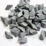 厂家供应蓝白点陶瓷研磨石 斜三角8*8 高铝瓷研磨石