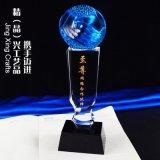 握手琉璃水晶獎盃 企業商務合作共贏紀念品定製