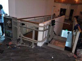 信阳市 师河区启运斜挂式升降平台 残疾人电梯