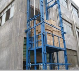 商丘市 睢阳区启运剪叉固定式升降机 小型升降货梯