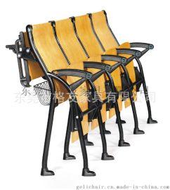 曲木培训椅,培训排椅,写字板木椅子