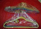 塑料植絨衣架(WY002)