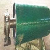 厂家低价定制造纸厂皮带机聚氨酯包胶滚筒