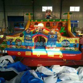 湖北鄂州儿童充气城堡贝斯特玩具厂现货充气蹦蹦床