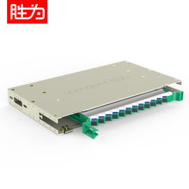 胜为 9英寸12芯SC单模满配ODF光纤配线架