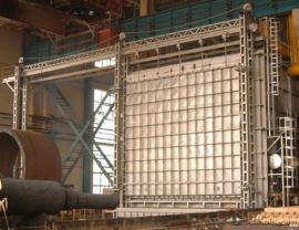 [丹阳市电炉厂]  ;台车炉,节能降耗台车式电阻炉