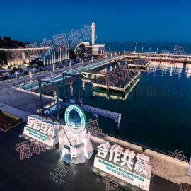 中润光电携led点光源亮相2018上海国际照明展