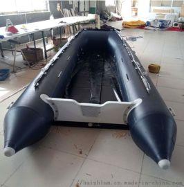 海之蓝游艇**五米大型充气龙骨系列冲锋舟/橡皮艇/皮划艇