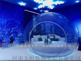 郑州情侣主题酒店装修设计要符合情侣二字