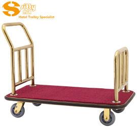 SITTY斯迪91.2008A钛金不锈钢手推行李车