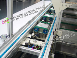 理疗床垫生产线按摩床垫环形装配线流水线