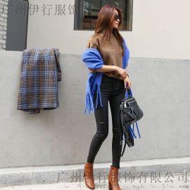 迪卡轩  广州  货源 品牌尾货 格子廊女装折扣批发