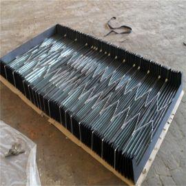 定制导轨防护罩数控机床导轨钢板防护罩免费测量安装