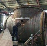 大口徑對焊管件 吸水喇叭口 柵欄三通 材質Q235B 直徑Φ426-6000 滄州乾啓鋼板對焊管件廠家