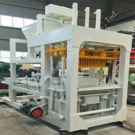 水泥空心砖机 液压免烧制砖机 6-15小型砖机