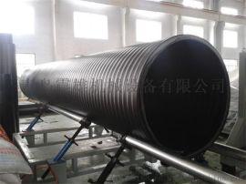 连续挤出克拉管设备生产线中空壁缠绕管设备 螺旋管 排污水管 废水管 钢带管 市政管