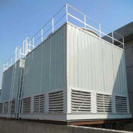 方形逆流式玻璃钢冷却塔 方形冷却塔设备厂家定制销售