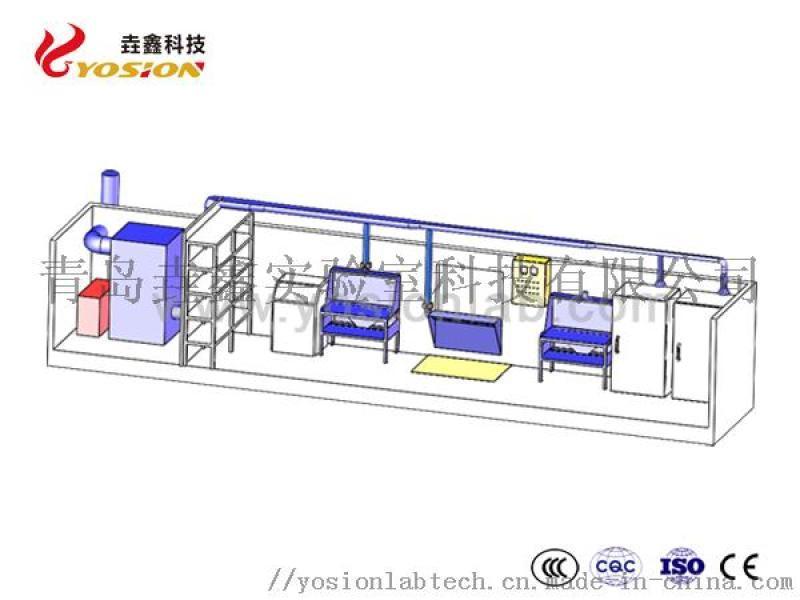 垚鑫 移動式集裝箱實驗室 模組集裝箱