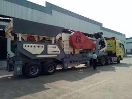 石料矿石破碎机 建筑垃圾破碎站 移动嗑石机厂家