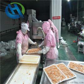 冷冻产品无骨鸡柳上糠机 鸡柳排条上糠设备供应厂家