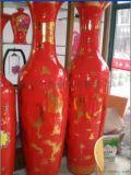 西安開業落地大花瓶景泰藍花瓶擺件