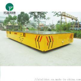电动移动平台 无轨胶轮平板运输车蓄电池