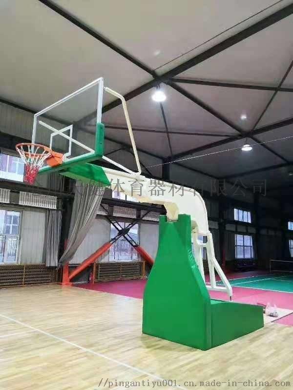 室内电动智能行走高档NBA CBA专用篮球架