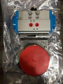 卫生级气动D681-X快装蝶阀/双作用