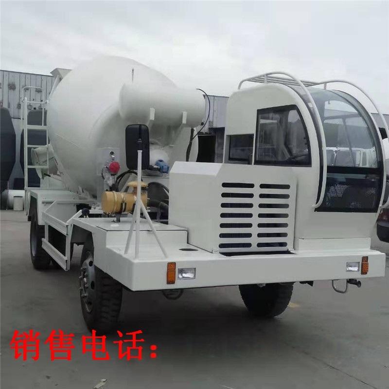 新款工程机械混凝土搅拌车 4.5方混凝土罐车