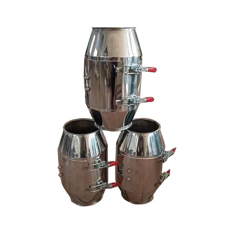 永丰粮机厂单筒强磁TCXT150不锈钢磁选器