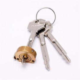 十字鎖芯 新款上市銅合金材質機械鎖優質鎖芯源頭廠家開發定制