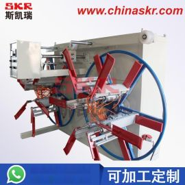 单壁波纹管收卷机 塑料管材单盘收卷机