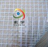 厂家直销1cm*1cm格子1000DPVC透明网格布,箱包面料