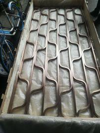 供应不锈钢酒店花格屏风不锈钢钛金会所大堂屏风定制